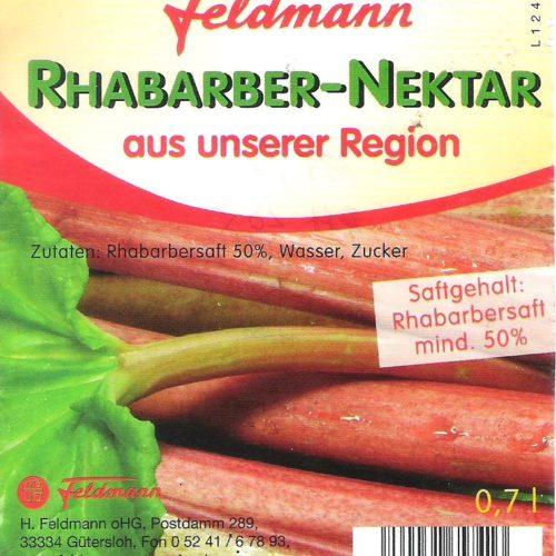 Rhabarber-Nektar